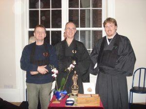 John, Andy and Alasdair